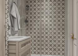 Ремонт дома по дизайн проекту в Экодолье ванная комната подиум