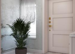 Ремонт дома по дизайн проекту в Экодолье коридор
