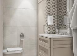 Ремонт дома по дизайн проекту в Экодолье ванная комната инсталяция