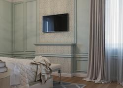 Ремонт дома по дизайн проекту в Экодолье гостевая комната