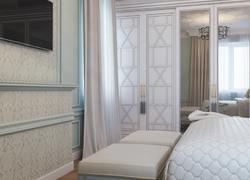 Ремонт дома по дизайн проекту в Экодолье гостевая комната портал