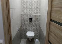 Ремонт туалета санузла укладка плитки керамогранита установка инсталяции