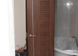 Ремонт 3 комнт. квартиры на ул. Новая 12 переустановка межкомнатных дверей