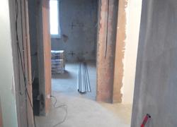 ремонт коридора между спальнями старт
