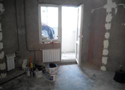 ремонт гостиной кухни старт