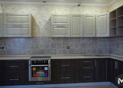 ремонт квартиры укладка кафеля фартук рабочей стенки финиш
