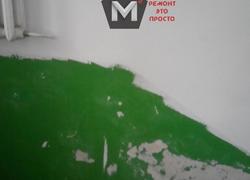 Ремонт подъезда в доме по адресу ул. Ташкентская 14А