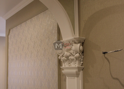 Отделка арки коридора сантехники отделка коттеджа