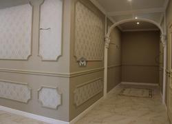 Отделка стен коридора сантехники отделка коттеджа