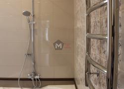 Ванная установка сантехники отделка коттеджа
