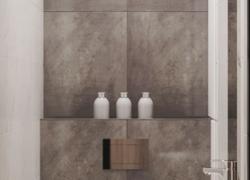 Дизайн проект гостевого туалета инсталяция